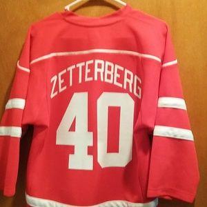 Hendrick Zetterburgh Detroit Redwings jersey